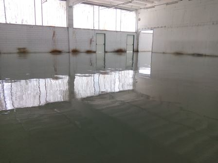 self levelling resin floor