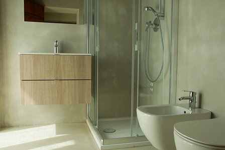 Microcement bathrooms