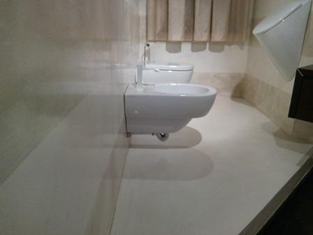 Rivestimento in microcemento rivestimento pavimenti in microcemento - Pavimenti in cemento per interni pro e contro ...