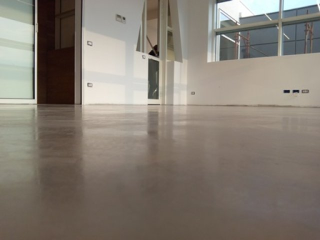 Modern microcemento Floor, coating microcemento