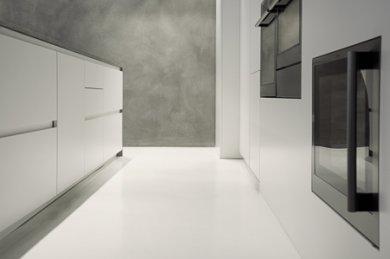 Pavimento In Resina Bianco.Pavimento In Resina Per La Cucina Moderna