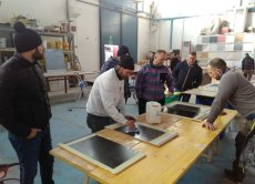 Resin and microcement floor application courses held from February 23 to February 26, 2017