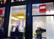 Lego City toy store